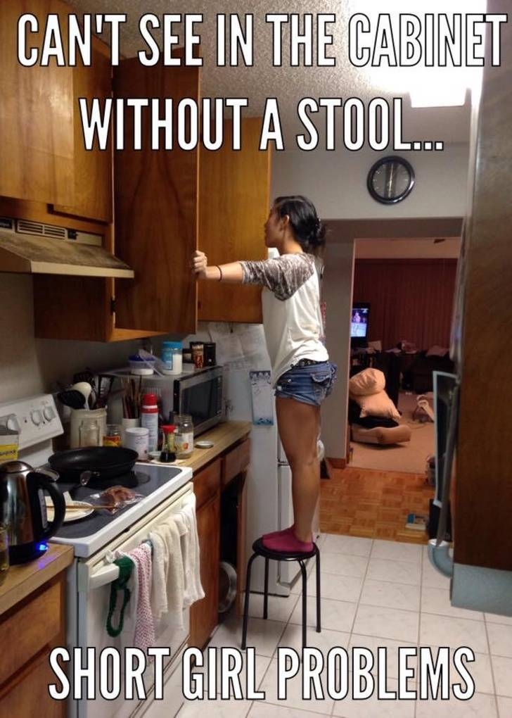 Short People, You Can Do It!