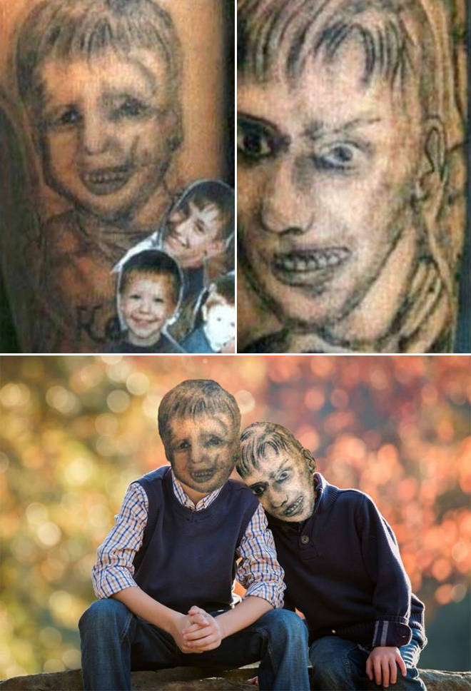 Faceswaps Make These Tattoos Look Even Worse…