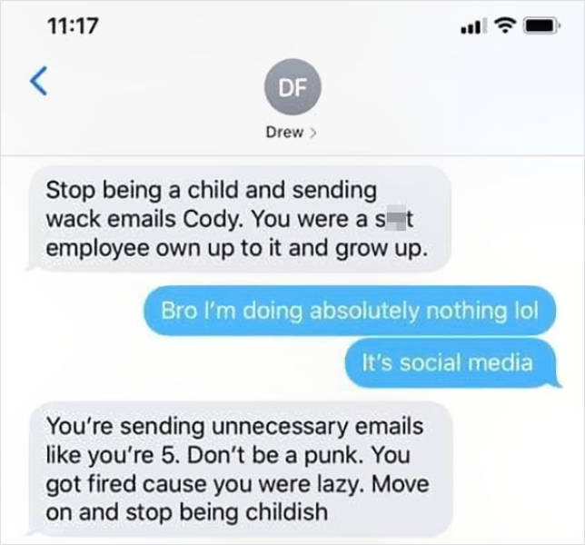 Guy Gets Fired After Posting A Silly Meme