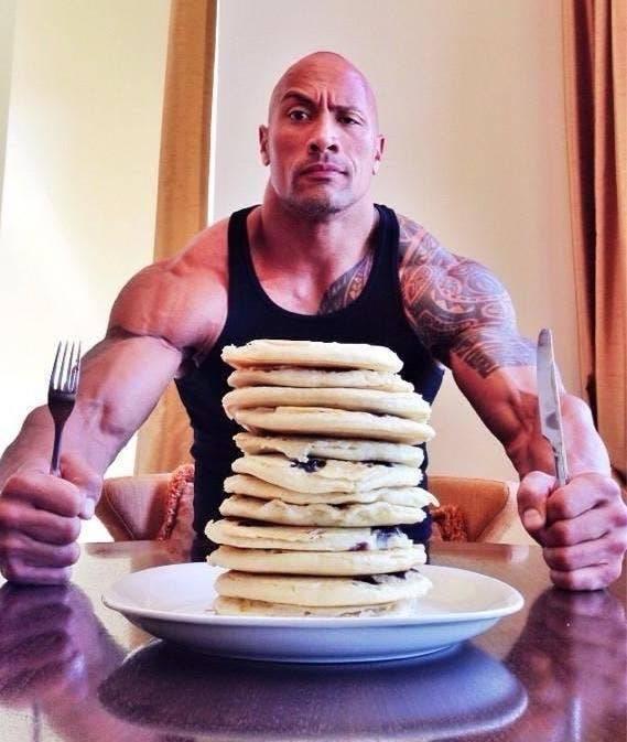 The Rock Eats A Lot. Like Really A Lot