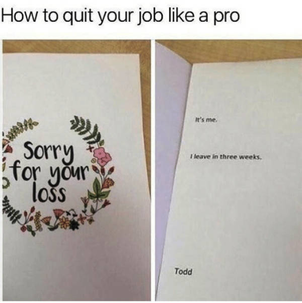 Are You Sick Of Your Job Too?