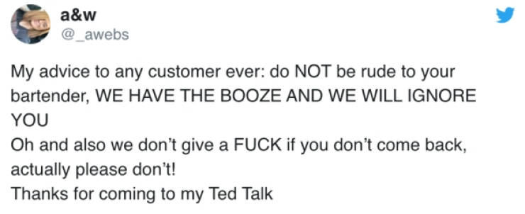 That's How You Deal With Rude Customers