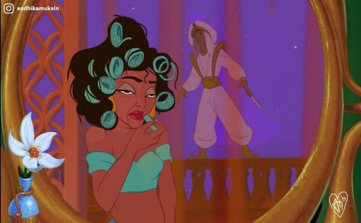 Artist Transforms Disney Princesses To Look A Bit More Real