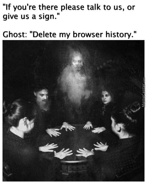 Can You See These Ghostly Memes Too?