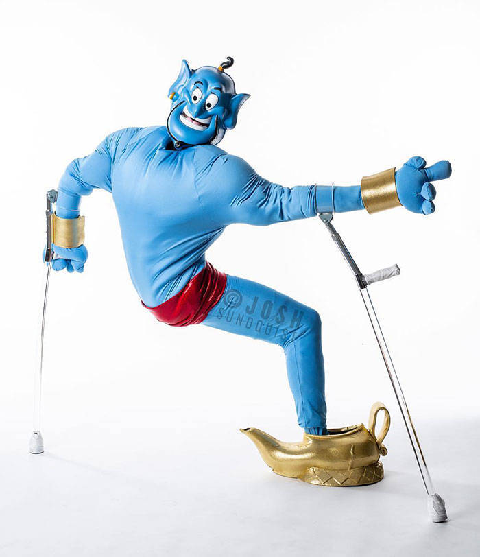 One Leg Is More Than Enough For A Great Halloween Costume