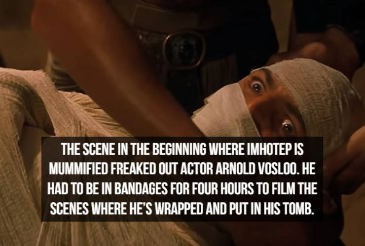 "Unwrapped Facts About 1999's ""The Mummy"""