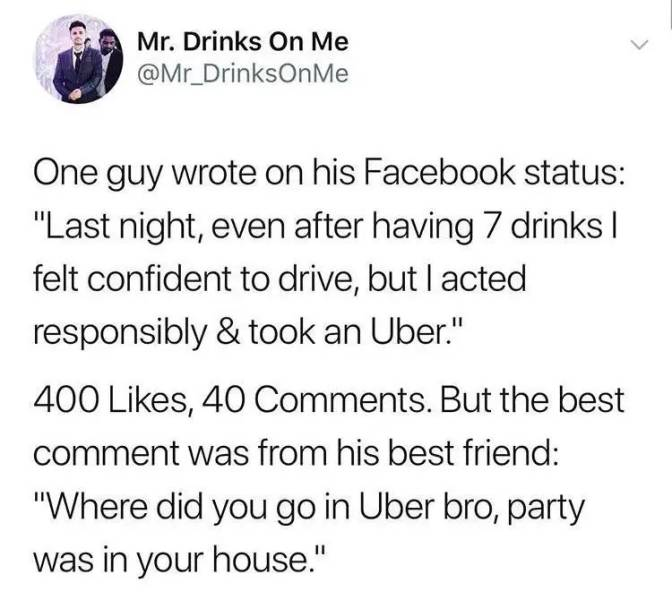 So, About All Those Drunk People…