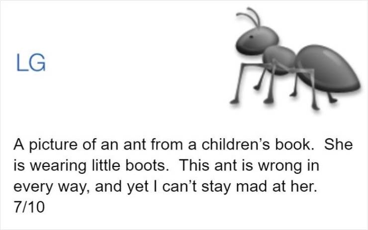 An Official Entomologist Ranking Of Ant Emojis. Yeah, That's Right