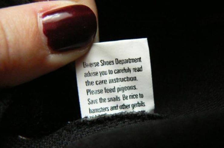 Clothing Tags Are Boring? Well, Definitely Not These