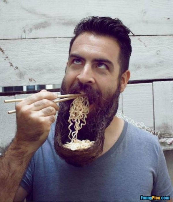 Don't Let Your Food Get Stuck In These Beard Memes