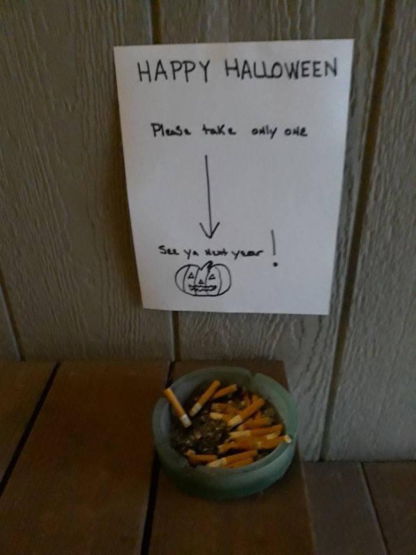 Halloween Giveaways Can Get Very Weird