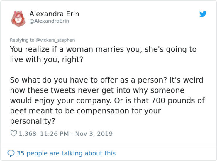 """A """"Provider"""" Man Is Mad Because Women Only Choose """"Losers"""""""
