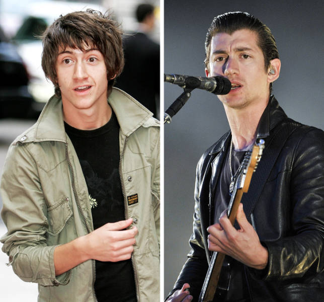 Rock Stars Of The 2000s Then And Now