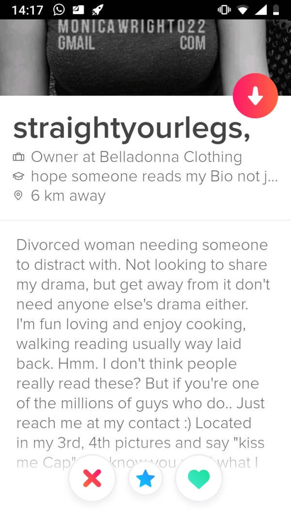 Tinder Doesn't Even Know What Shame Means