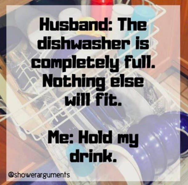 Married Life Is All About Jokes. Cruel Jokes