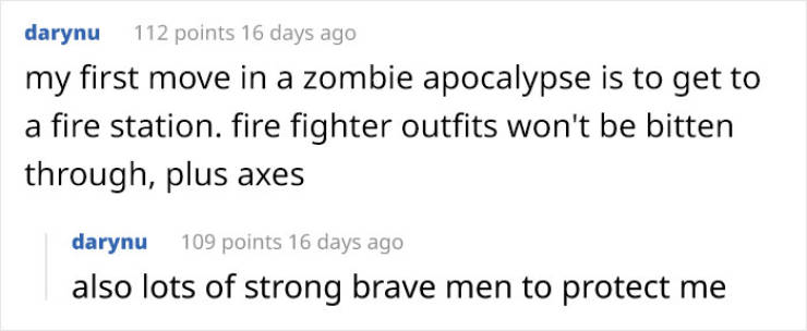 So Why Don't People In Zombie Movies Just Wear Armor?