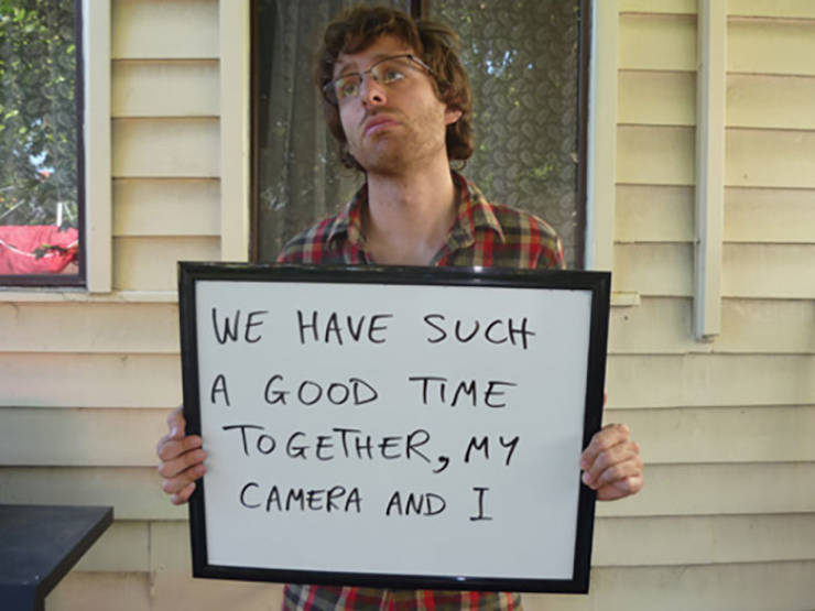 This Guy Knows How To Get His Lost Camera Back
