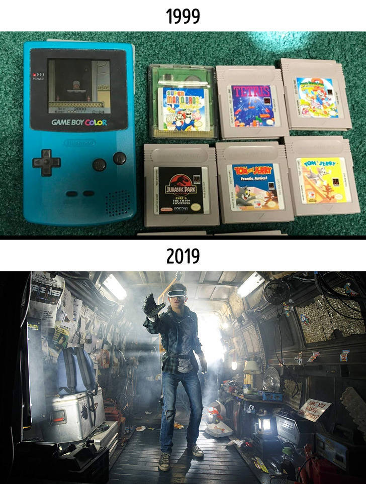 20 Years Is A TON When It Comes To Changes