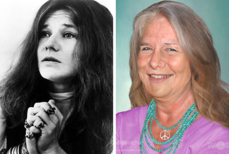 If Only These Celebs Were Still Alive, They Could Look Like This