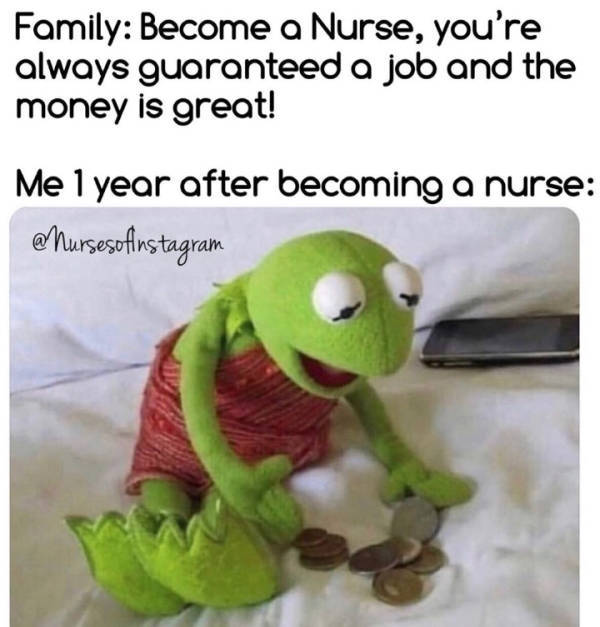Nursing Memes Are Just So Exhausted…