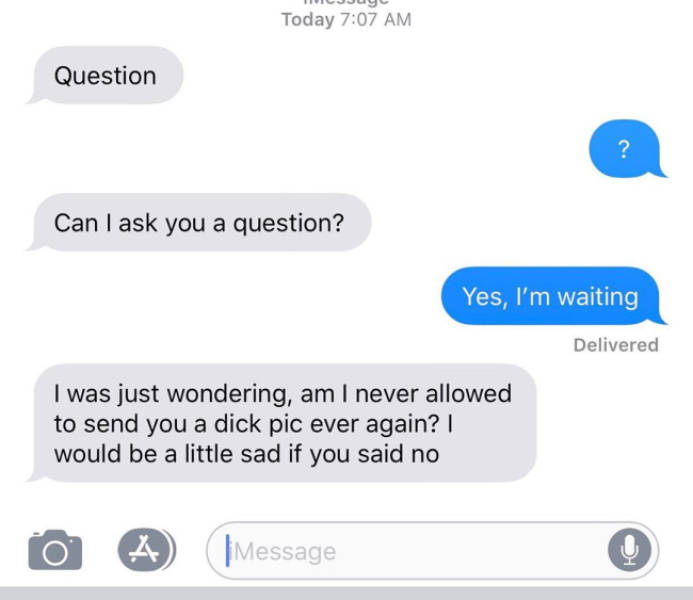 Spam Folder Is Specifically For These Texts From Exes