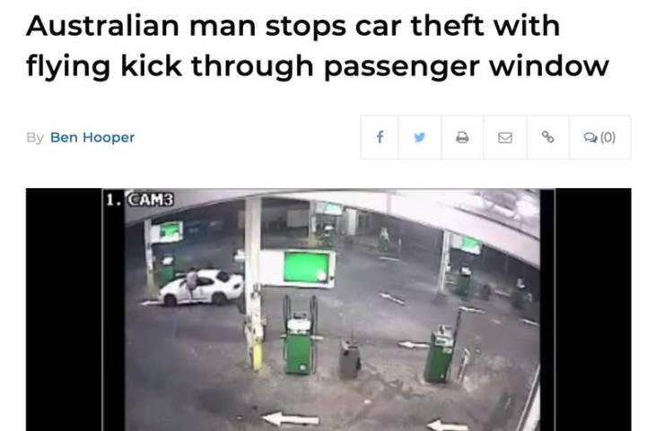 Step Aside, Florida Man! Australian Man Is Coming!