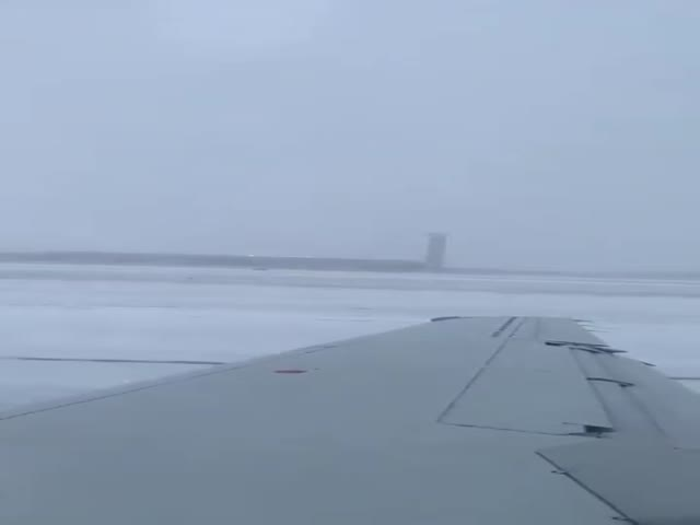 It Must Be Scary When Your Plane Slides Off A Runway