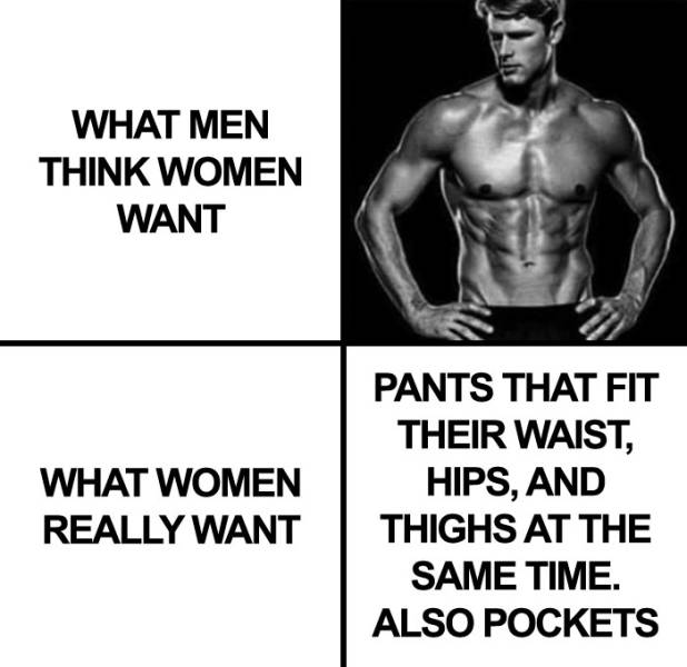 Women Really Need Pockets In Their Lives!
