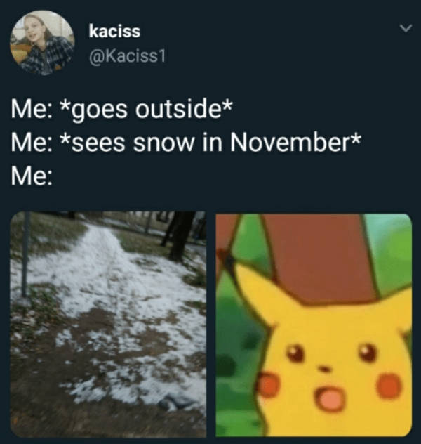 Is Winter Here Already?