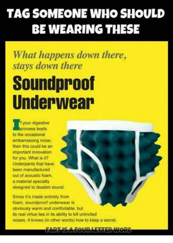 No One Wears These Underwear Memes