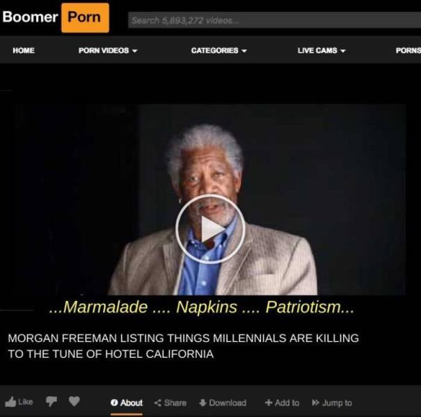 """""""Boomer Porn"""" Is What Boomers Enjoy The Most"""