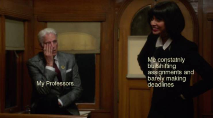 """Some Pretty Relatable """"The Good Place"""" Memes"""