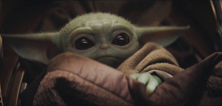 """Baby Version Of Yoda Appeared In The Latest """"The Mandalorian"""" Episode, And It Is Very Cute"""