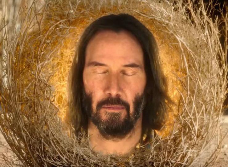 Keanu Reeves Is In The New Spongebob Movie. And He's A Tumbleweed