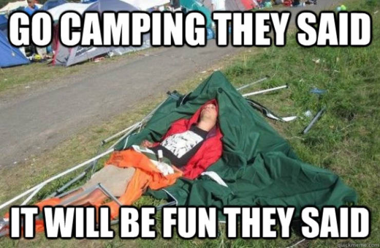 Memes, Make Yourselves Comfortable Around The Campfire