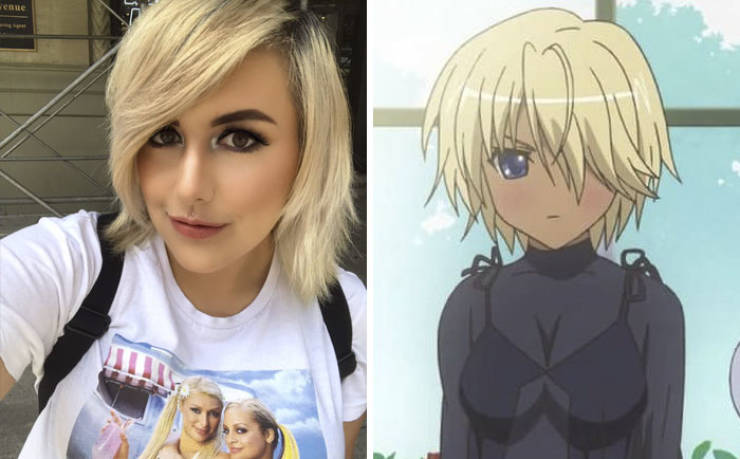 There's An Anime Lookalike For Everyone!