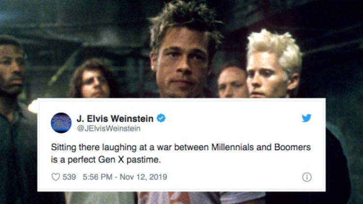 Gen. X-ers Don't Even Know What's Going On With All This Boomer-Millenial Nonsense