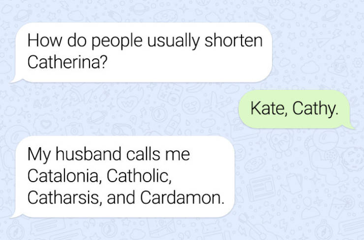 Texts From People Whose Logic Breaks All Boundaries