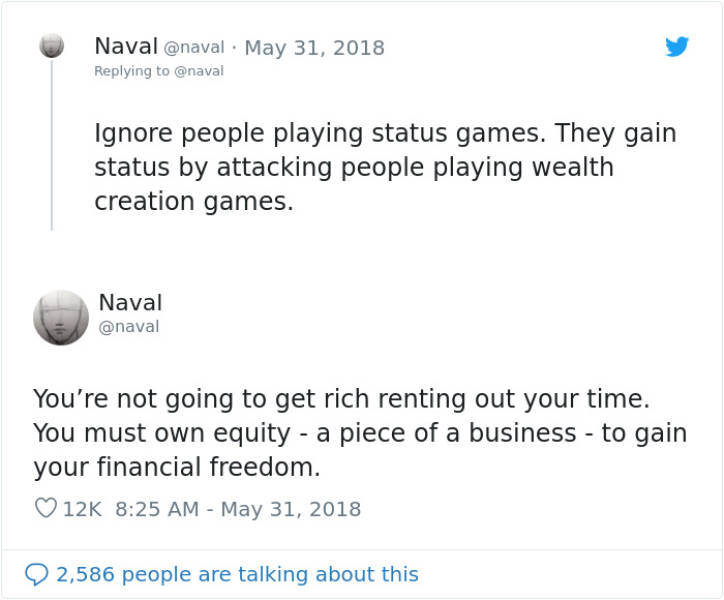 What You Should Know About Getting Rich