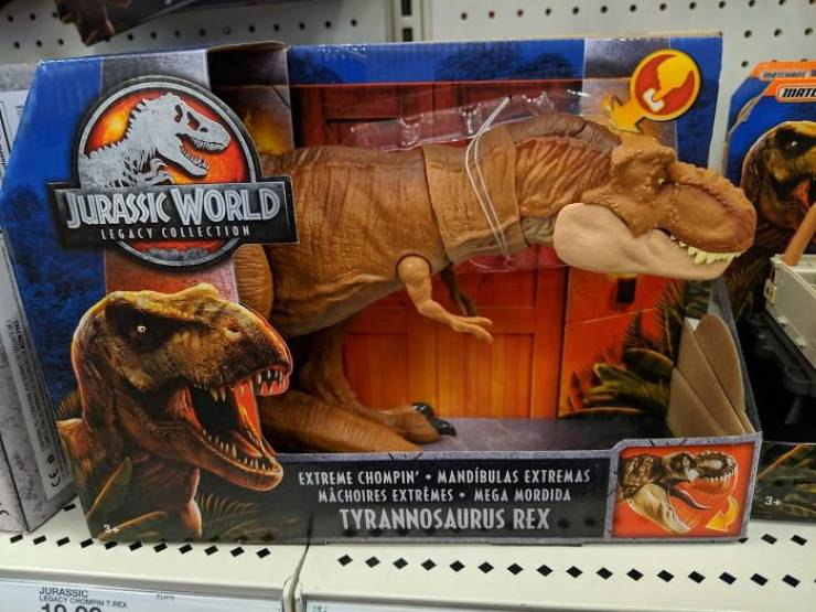 When Your Mother Doesn't Let You Buy A Toy T-Rex, You Grow Up And Buy It Yourself!