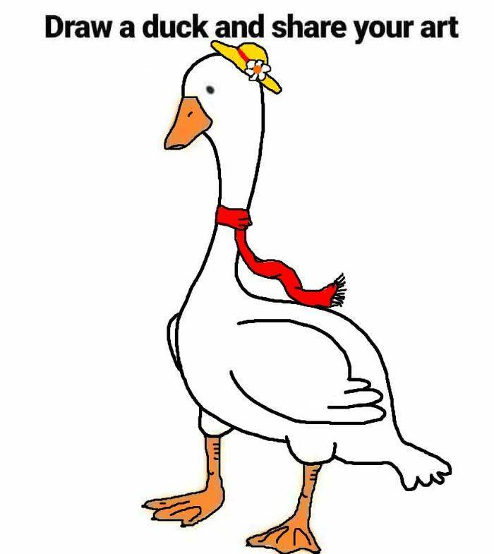 Draw A Duck, They Said… It Will Be Easy, They Said…