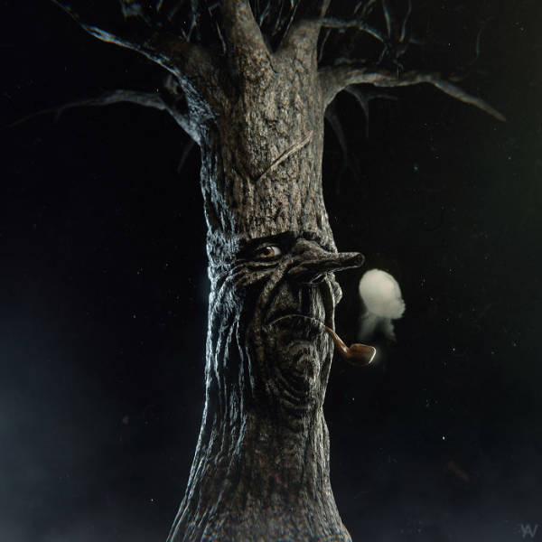 Childhood Characters Are Not Supposed To Look This Scary In 3D!