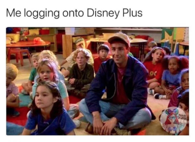 """Disney+"" Is Out, And Everyone Is So Busy Watching It, They Can't Even Look At These Memes"