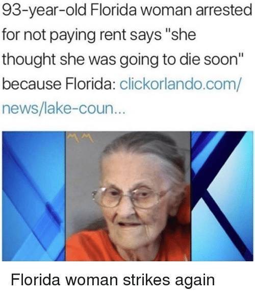 Florida Man And Florida Woman Are Never Silent