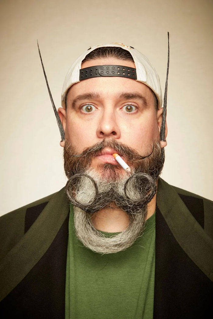 Some Of The Best Contestants From 2019 National Beard and Mustache Championships