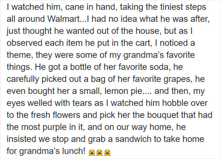 This Grandpa Is A Sly One, But In A Good Way