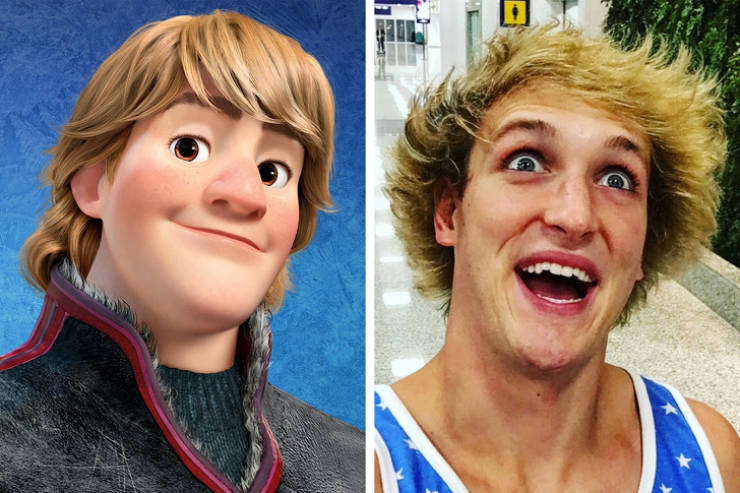 When Cartoon Characters Exist In Real Life