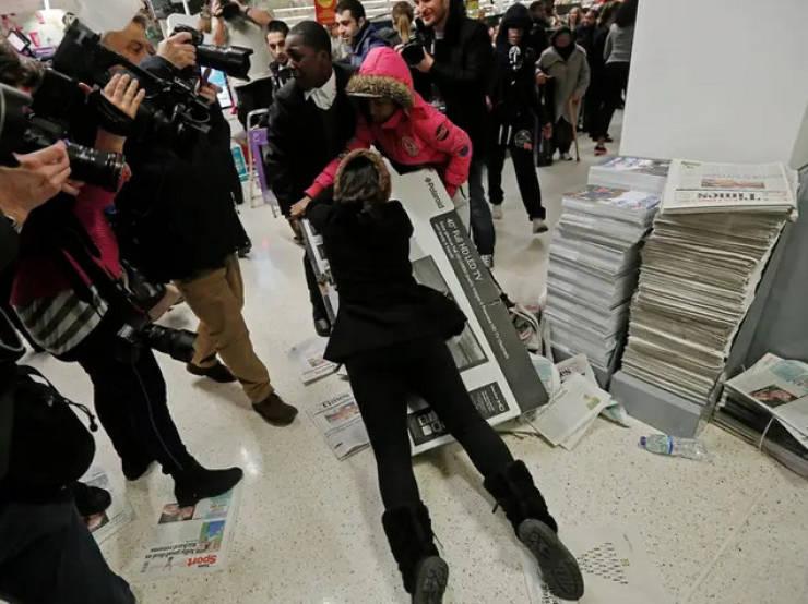The Insanity Of Black Friday