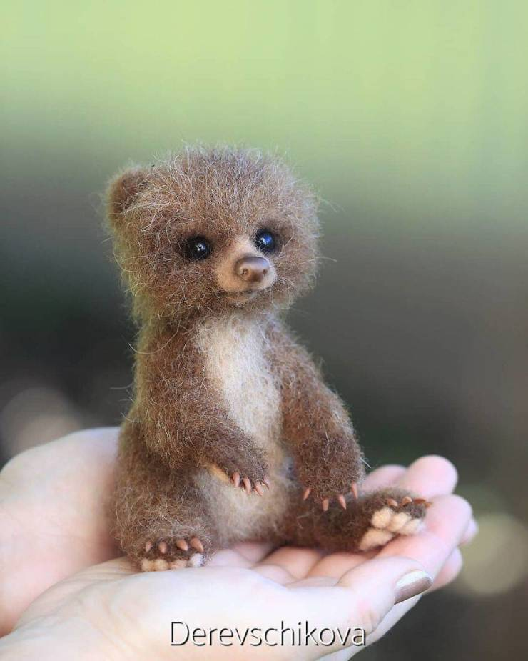 Animals Created By This Russian Artist Are The Most Adorable Ones You Have Ever Seen!