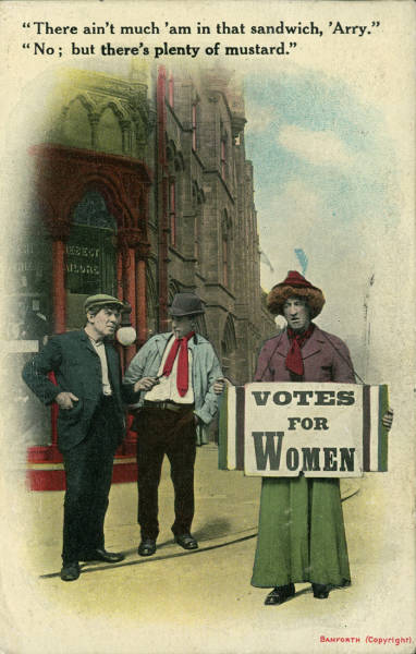 How Vintage Men Imagined Suffrage Movement
